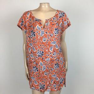 NEW Caslon Nordstrom Women's shirt Floral XL KK8